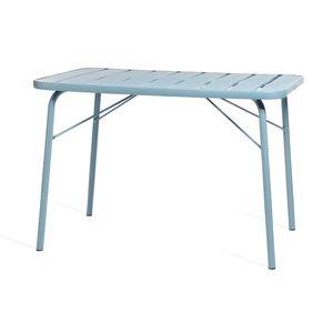 Tisch, 110x70x74cm, blau
