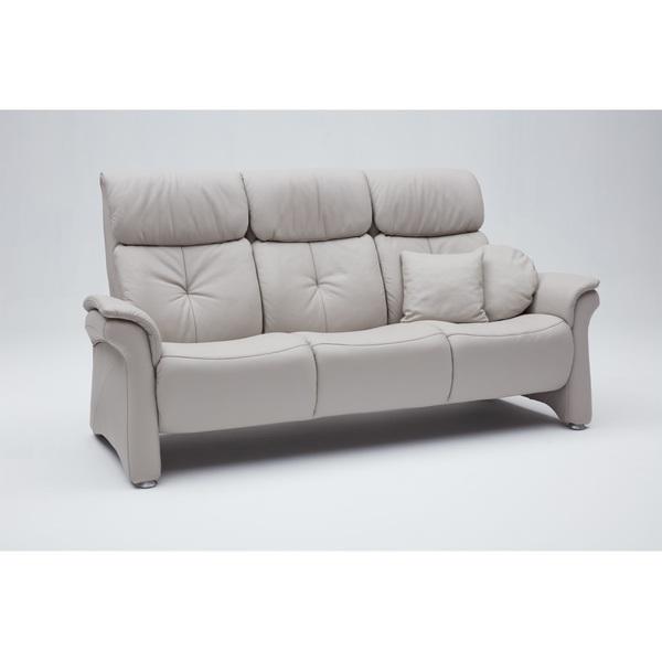 Mondo 3 Sitzer Sofa Varia Lederbezug Delfin Ca 210 X 106 X 90 Cm