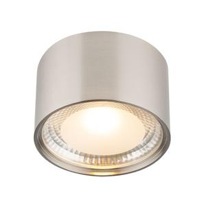 GLOBO LED Deckenlampe Ø 11 SERENA Nickelfarbig/satiniertes Glas