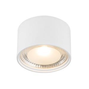 GLOBO LED Deckenlampe Ø 11 SERENA Weiß/satiniertes Glas