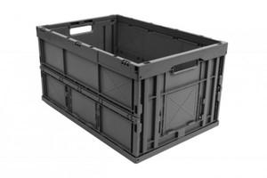Surplus Profi-Faltbox grau, 60 x 40 x 32 cm