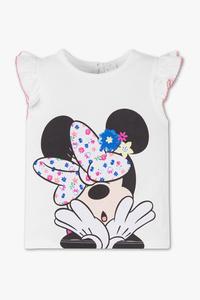 Disney Baby         Minnie Maus - Kurzarmshirt - Bio-Baumwolle