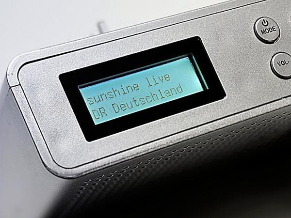 Tragbares DAB+ Radio