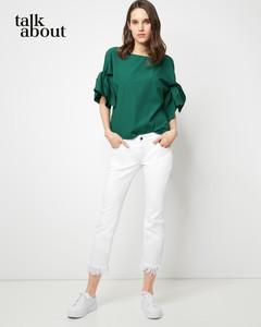 talkabout - Skinny-Jeans mit Fransensaum