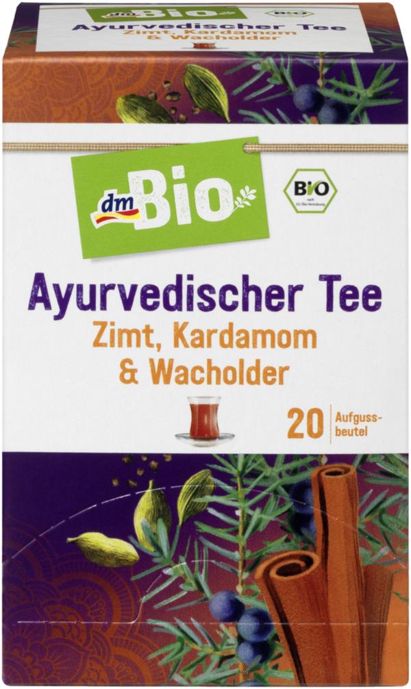 Dmbio Früchte Kräuter Tee Ayurvedischer Tee Mit Zimt Kardamom