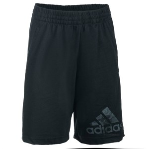 ADIDAS Sporthose kurz Gym Kinder schwarz, Größe: 6 J. - Gr. 116