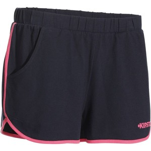 Teamsportshorts V100 Volleyball/Handball Damen navy/rosa