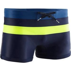 NABAIJI Badehose Boxer 550 Pool H Navy Yellow Herren, Größe: S (EU:38 - DE:44)