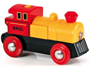 BRIO World Gelbe Batterielok