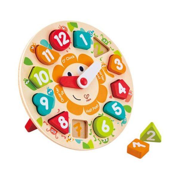 HAPE   Steckpuzzle Uhr