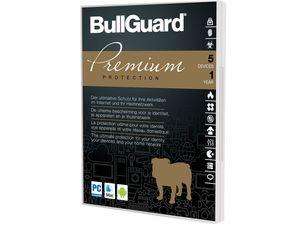 BullGuard Premium Protection 1 Jahreslizenz für 5 Geräte