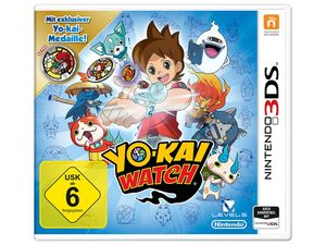 Nintendo 3DS YO-KAI WATCH® Special Edition Inkl. Medaille