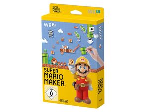 Nintendo Wii U Super Mario Maker + Artbook