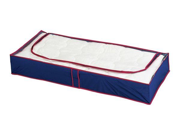 Wenko Unterbettkommode Blau-Rot 4er Set