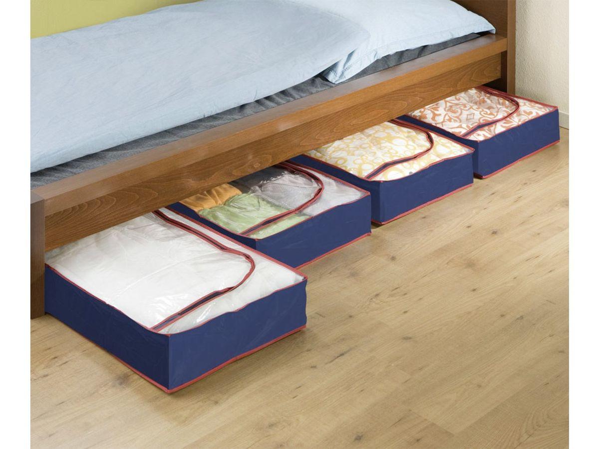 Bild 5 von Wenko Unterbettkommode Blau-Rot 4er Set