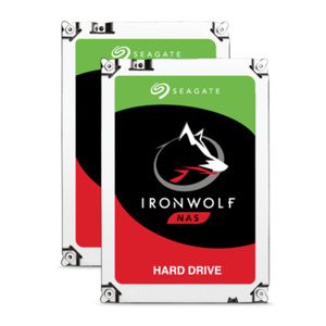 Seagate 2er Set IronWolf NAS HDD ST6000VN0033 - 6TB 7200rpm 256MB 3.5zoll
