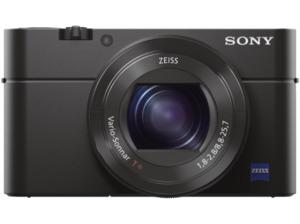 SONY Cyber-shot DSC-RX100 III Zeiss Digitalkamera Schwarz, 20.1 Megapixel, 2.9x opt. Zoom, TFT-LCD, WLAN