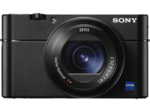 SONY Cyber-shot DSC-RX100 V Zeiss Digitalkamera Schwarz, 20.1 Megapixel, 2.9x opt. Zoom, LCD, WLAN