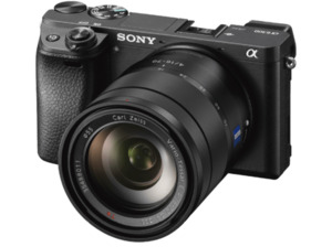 SONY Alpha 6300 (ILCE-6300ZBDI) Zeiss Systemkamera 24.2 Megapixel mit Objektiv 16-70 mm f/4, 7.5 cm Display