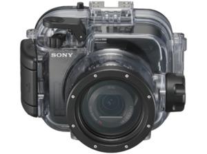 SONY MPK-URX 100 A Unterwassergehäuse, Transparent/Schwarz