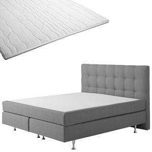 Boxspringbett-Set SCHLARAFFIA® Nordic/ErgoMAXX® Gel Touch®-Topper (180x200)