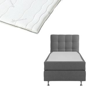 Boxspringbett-Set SCHLARAFFIA® Nordic/ErgoMAXX® Gel Touch®-Topper (90x200)