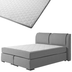 Boxspringbett-Set SUPERDREAM Himmerland/ErgoMAXX® Gel Touch® Visko-Gelschaum-Topper (180x200)