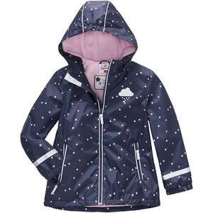 Mädchen Regenjacke mit Sternen-Print