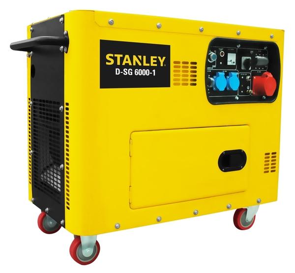 Stanley Diesel Generator D-SG 6000-1