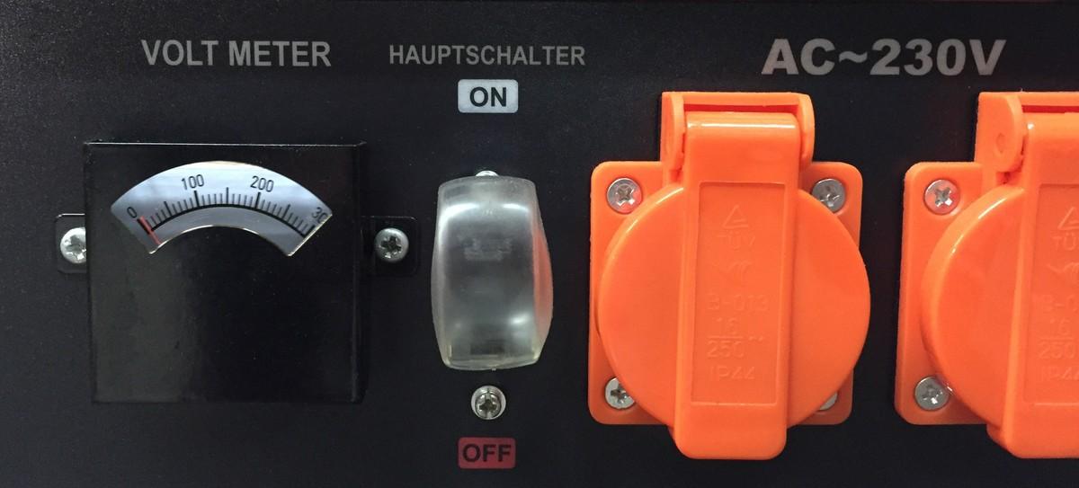 Bild 4 von T.I.P Benzin - Stromerzeuger CPG 3000