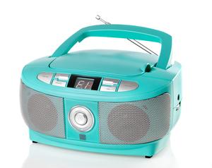 Dual Portable CD Boombox P 49.1 Dual - grün