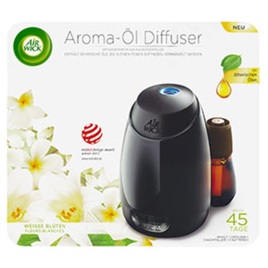 Air Wick  Aroma- Öl Diffuser weiße Blüten jede Packung