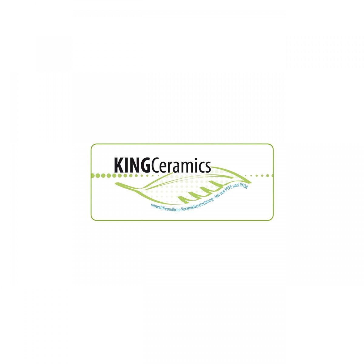 Bild 2 von King Alu Bratpfannenset 3-teilig, hellblau / grün / lila