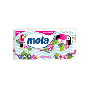 "Mola 3-lagiges Toilettenpapier ""Tropical Pink"""