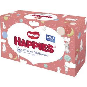 Huggies Happies trockene Baby-Pflegetücher
