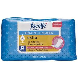 facelle diskret Hygiene-Einlagen extra