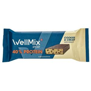 WellMix Sport Riegel Cookies & Cream 1.41 EUR/100 g