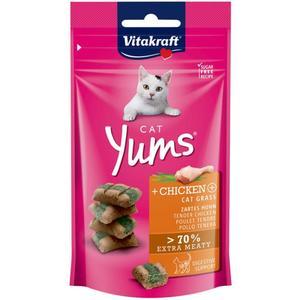 Vitakraft Cat Yums + Huhn & Katzengras 3.23 EUR/100 g