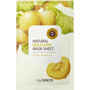 the SEAM Natural Gold Kiwi Mask Sheet 9.29 EUR/100 ml