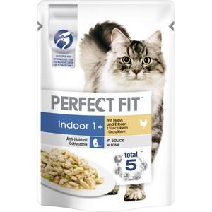 Perfect Fit Indoor 1+ Huhn und Erbsen 1.05 EUR/100 g (12 x 85.00g)
