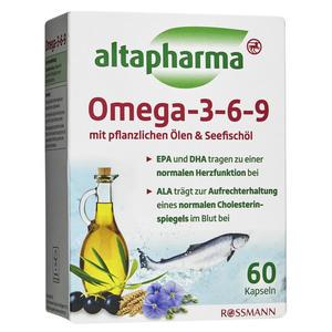 altapharma Omega 3-6-9 Kapseln 3.41 EUR/100 g