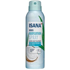 ISANA Bodylotion-Spray Kokos 1.86 EUR/100 ml