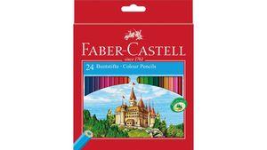 FABER-CASTELL Farbstift Eco 24er-Kartonetui