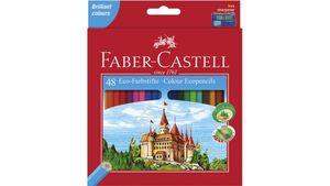FABER-CASTELL Buntstifte Castle im 48er-Etui mit Spitzer