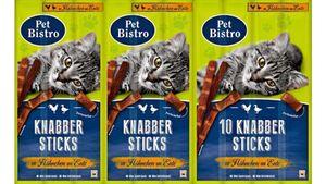 Pet Bistro Katzensnack Knabbersticks mit Hähnchen und Ente