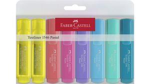 FABER-CASTELL Textmarker CASTELL 1546 PASTELL 8-er-Etui