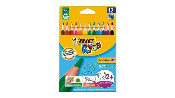 BiC Kids ECOlutions Evolution Buntstifte 12er-Pack