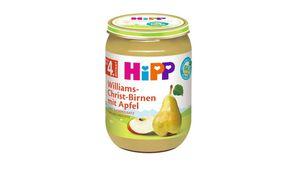 HiPP Früchte - Williams-Christ-Birnen mit Apfel