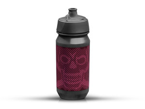Rie:sel Design bot:tle Trinkflasche | 0,5 Liter | skull honeycomb purple