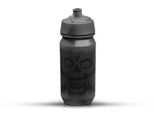 Rie:sel Design bot:tle Trinkflasche | 0,5 Liter | skull honeycomb stealth
